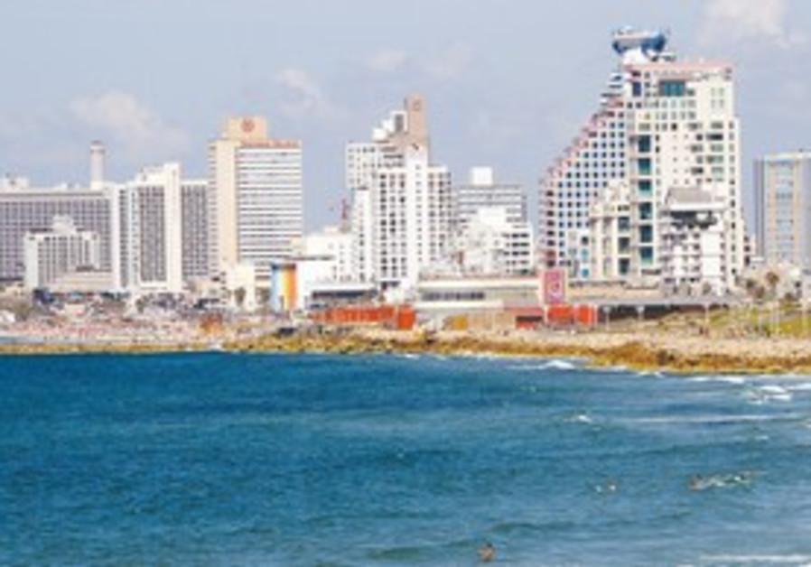 Tel Aviv's beach promenade.