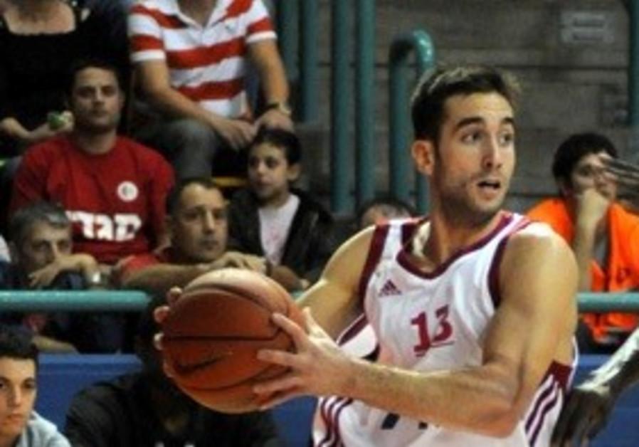 HAPOEL JERUSALEM guard Yogev Ohayon.
