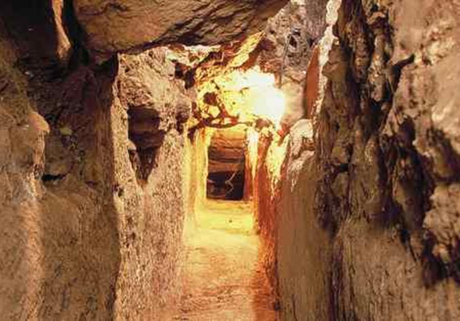 Main artery of Jlem City of David