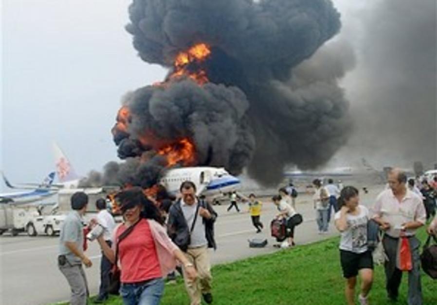 Boeing sends investigator after jet explodes in Japan