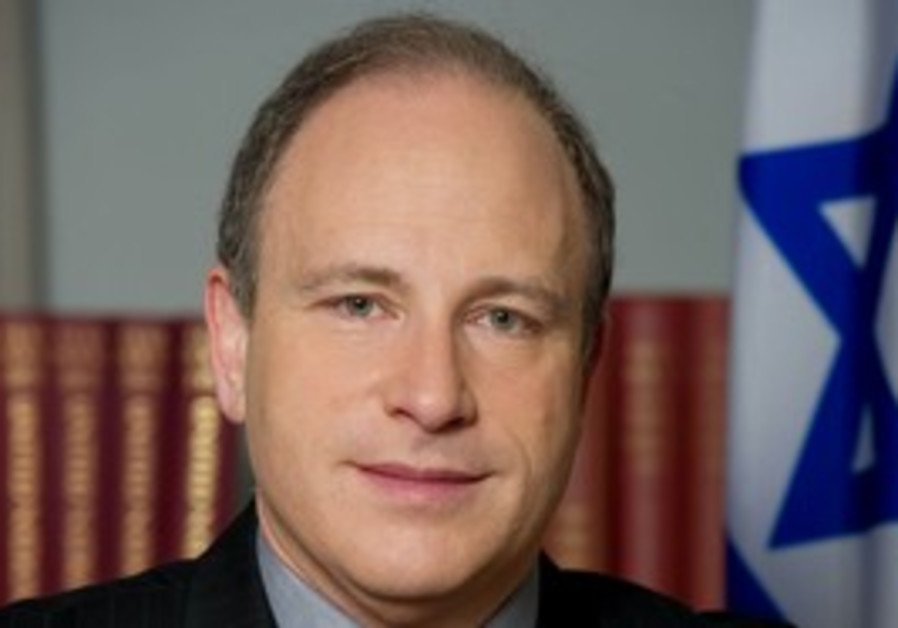 Israeli Ambassador to the UN Meron Reuben