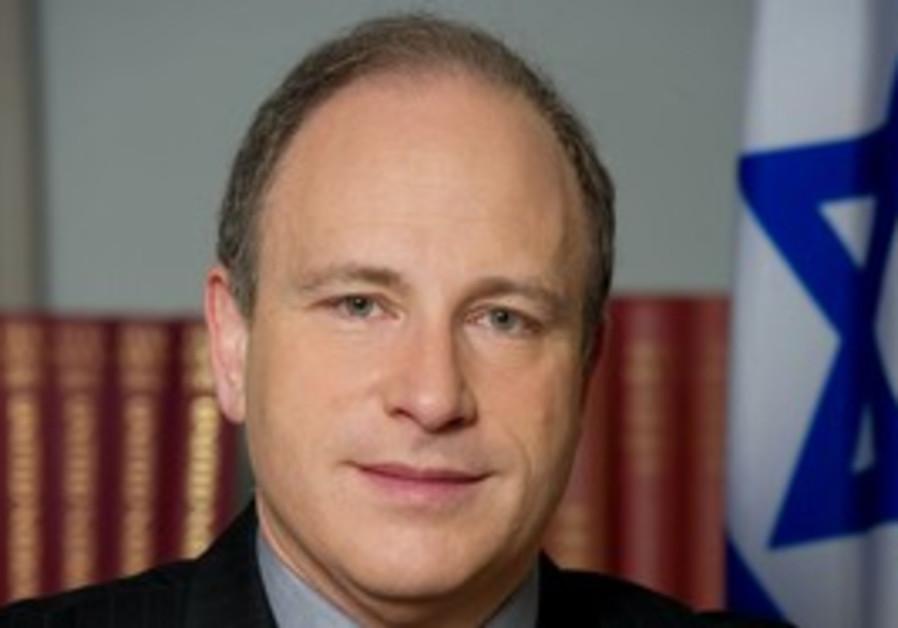 Israeli Ambassador to the UN Meron Reuben