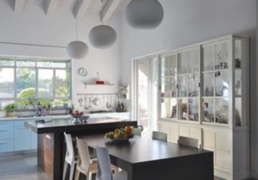 Moshav Batzra home kitchen