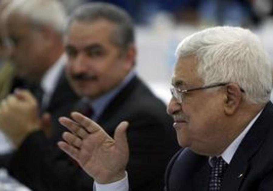 Mahmoud Abbas at Fatah Revolutionary Council event
