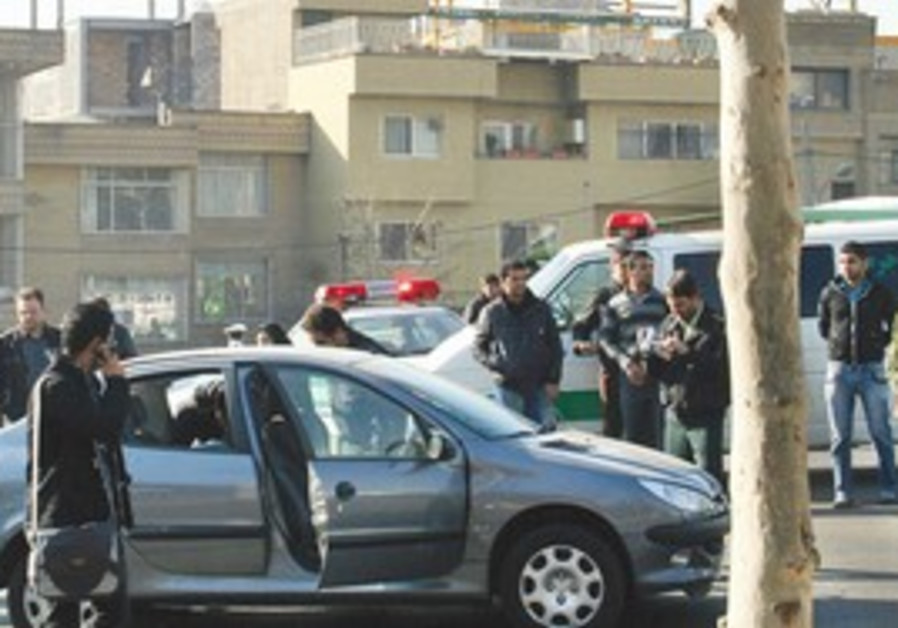 The car of one professor targetted in car bombing