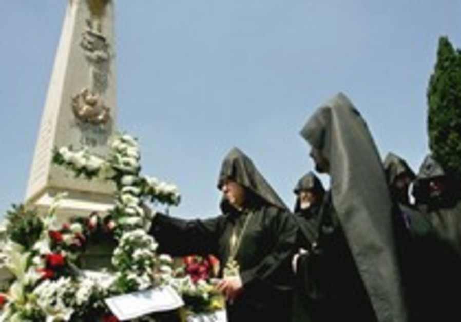 Armenians urge Jews to take moral high ground