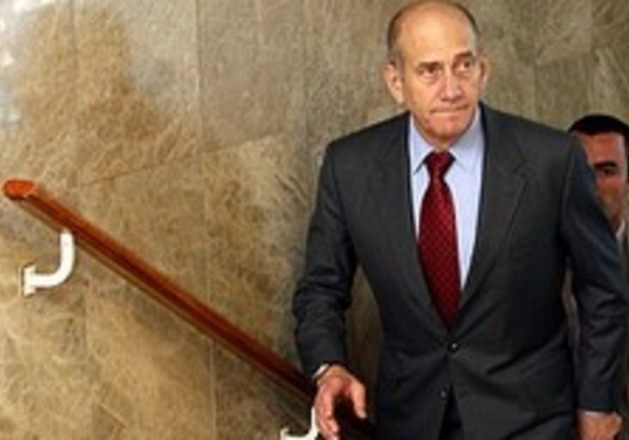 Olmert is prepared to enter unconditional talks with Syria