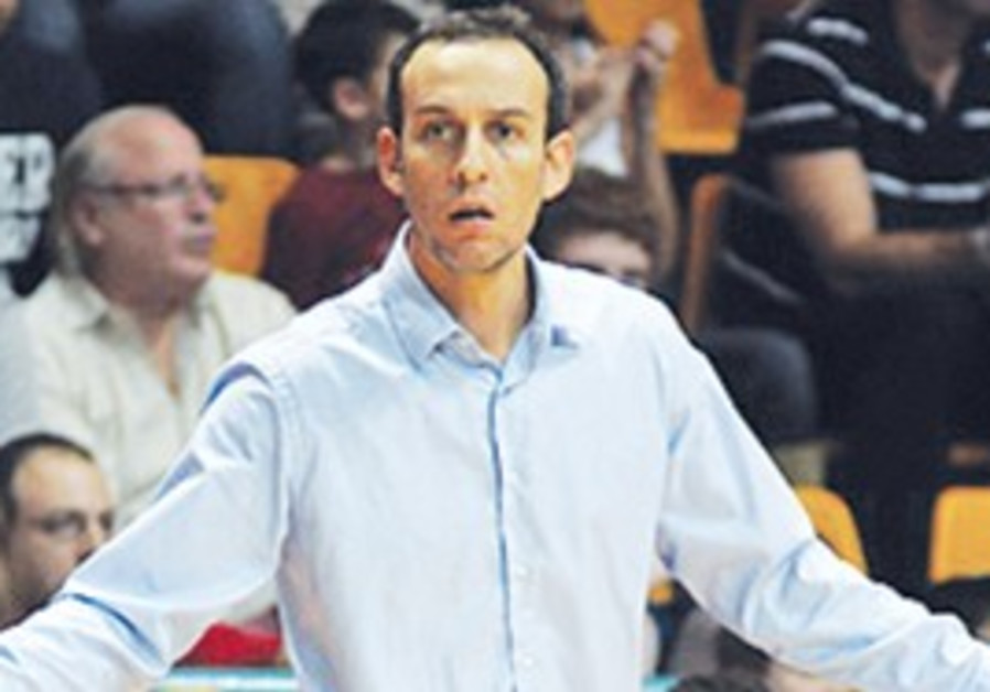ODED KATASH'S Hapoel Jerusalem fell to its first d