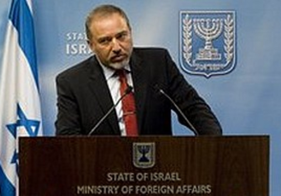 Lieberman speaks to the press