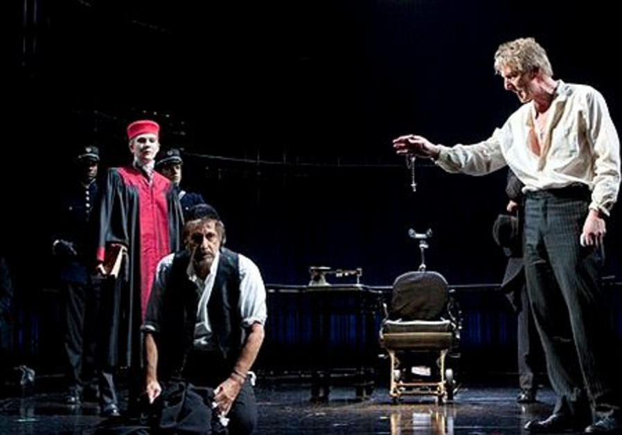 Al Pacion as Shylock in 'The Merchant of Venice'.
