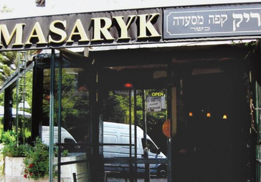 The Masaryk Restaurant in Jerusalem.