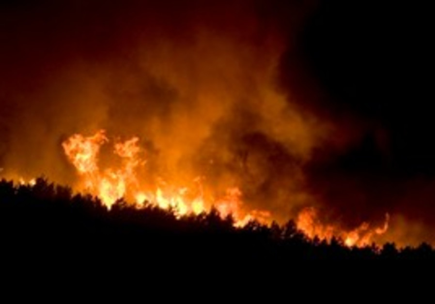 Carmel fire rages in northern Israel