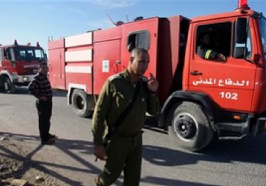 Palestinian firefighters come to israel 39 s aid diplomacy for World wide motors carmel