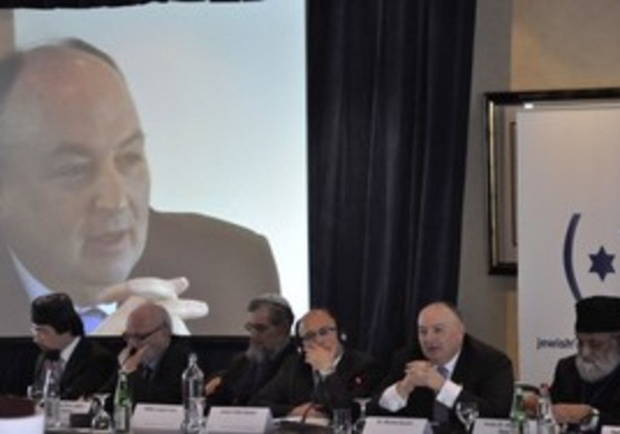 MOSHE KANTOR, head of the European Jewish Congress