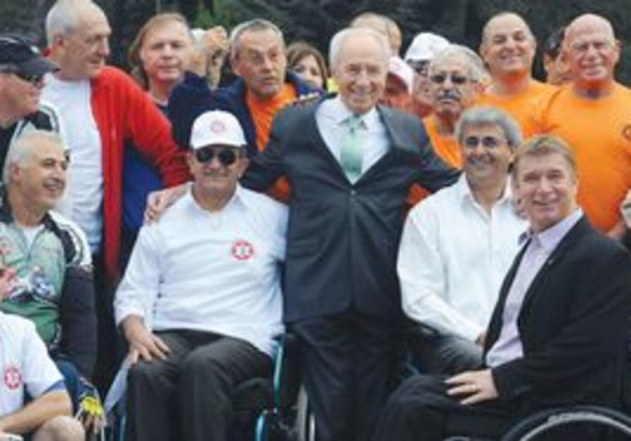 IDF disabled veterans Hanukka race.