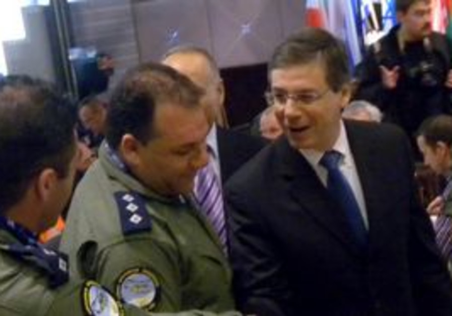DEPUTY FOREIGN MINISTER Danny Ayalon.