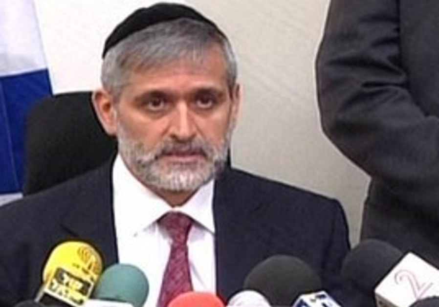Yishai reacts to the state comptroller's report.
