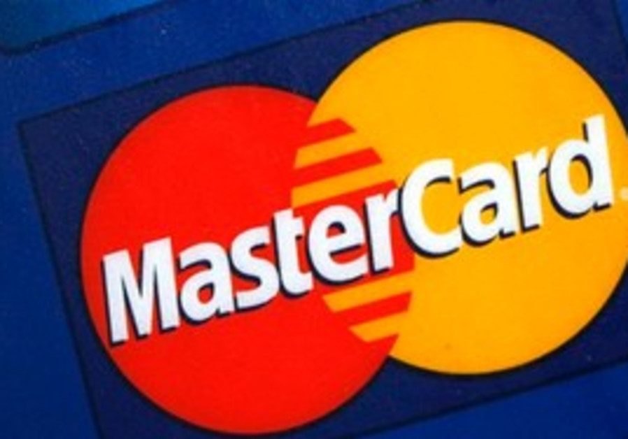 Mastercard sign on bank