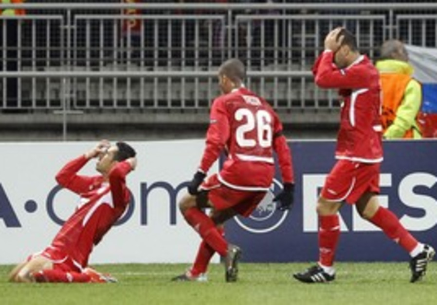 HAPOEL TEL AVIV midfielder Eran Zahavi