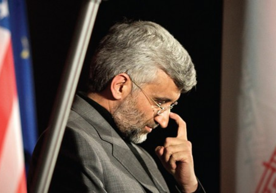 Iran's chief negotiator Saeed Jalili.
