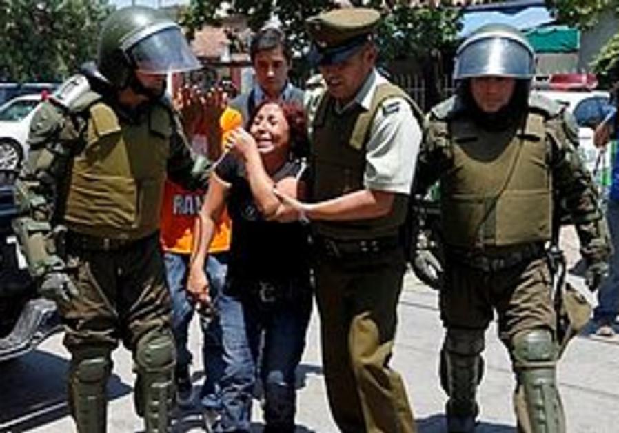 Chile Prison riot