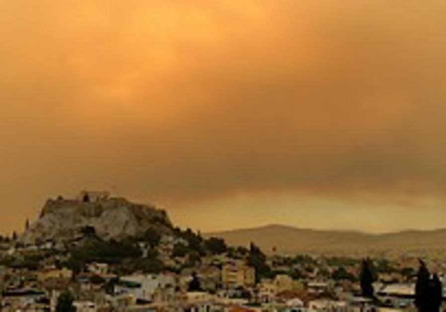 Israeli team lauded for helping battle against Greek blazes