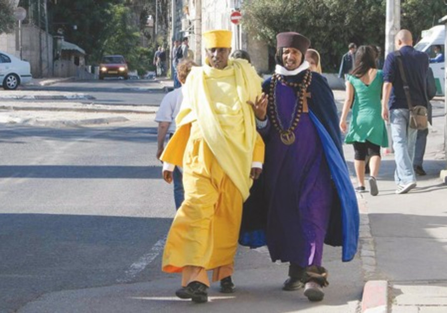 Ethiopian Christians during Easter.