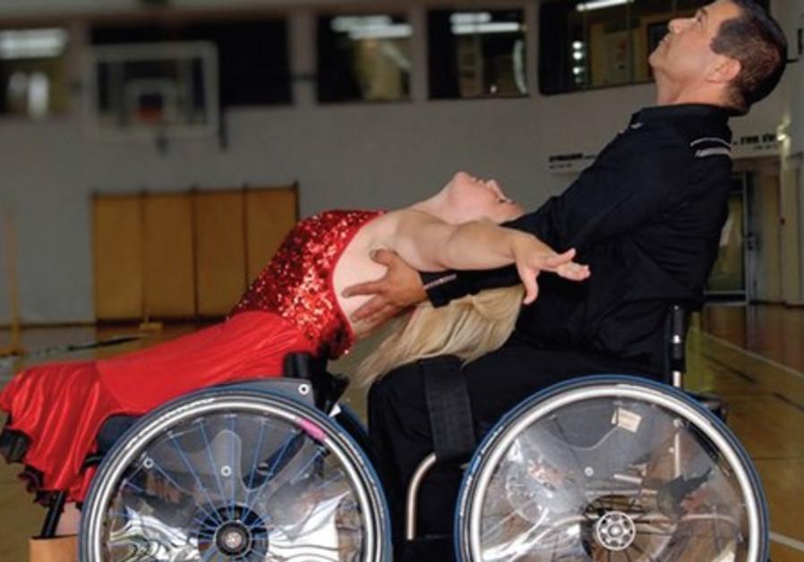 Wheelchair-bound sportsman Mennie Glass.