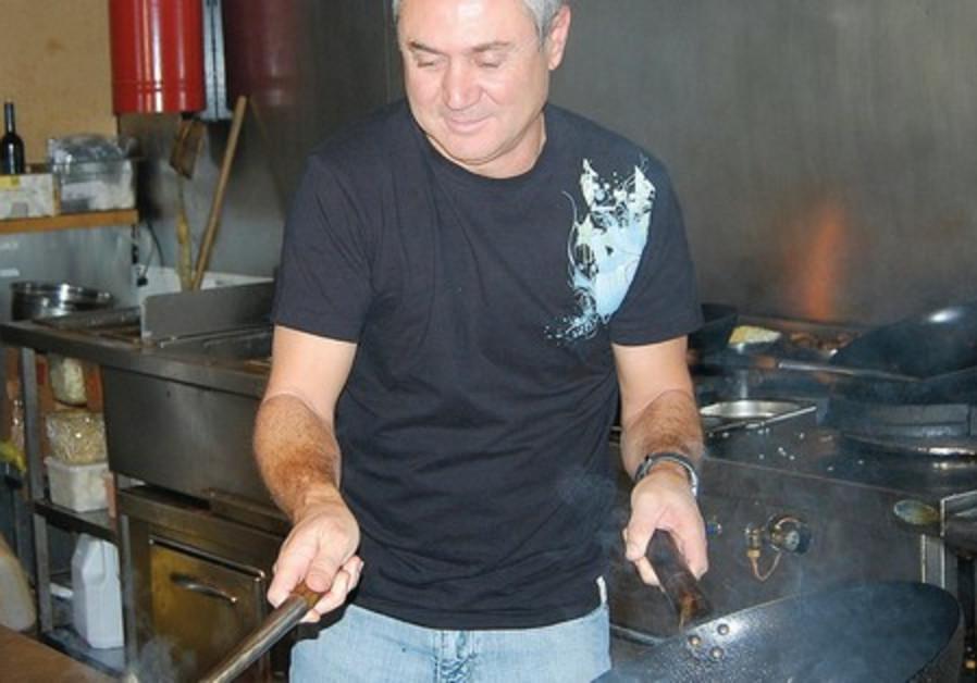 Chef David Elkiam.