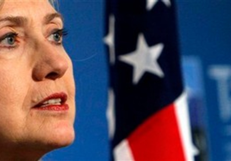 US Secretary of State Hilary Clinton