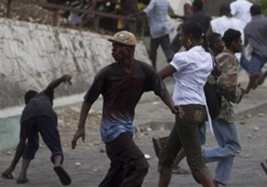 Haiti Election Riots