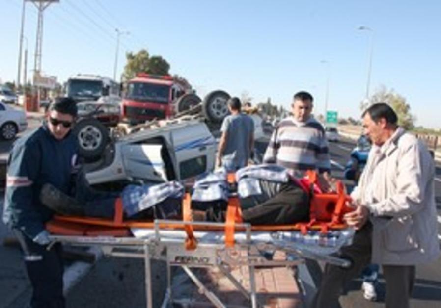 Traffic accident [illustrative]