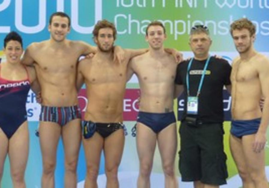 Israel Swimming team in Dubai.