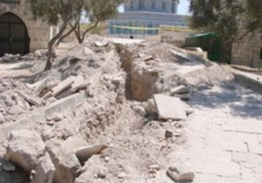 Archeologists slam authorities over Muslim dig