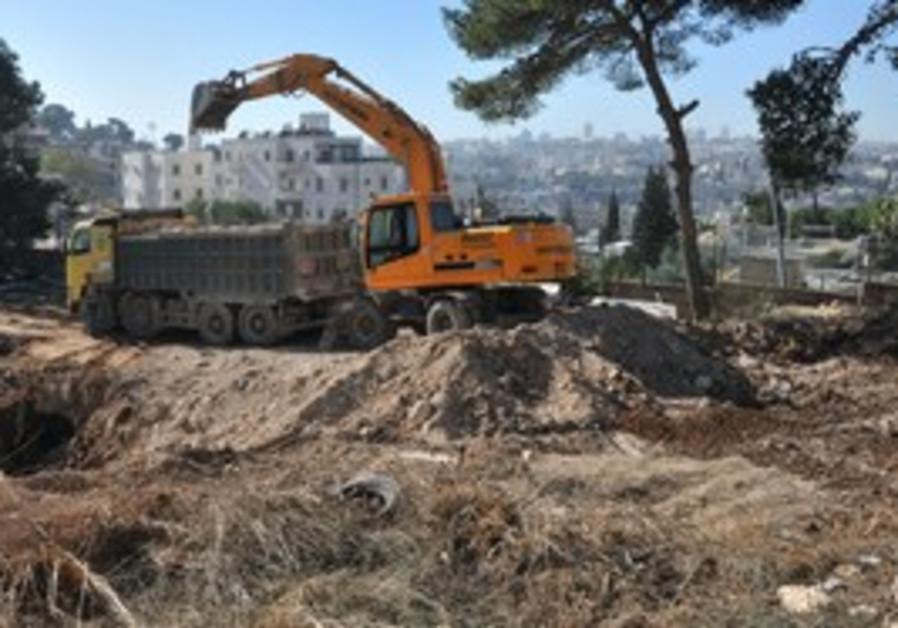 Construction begins at Mount of Olives yeshiva