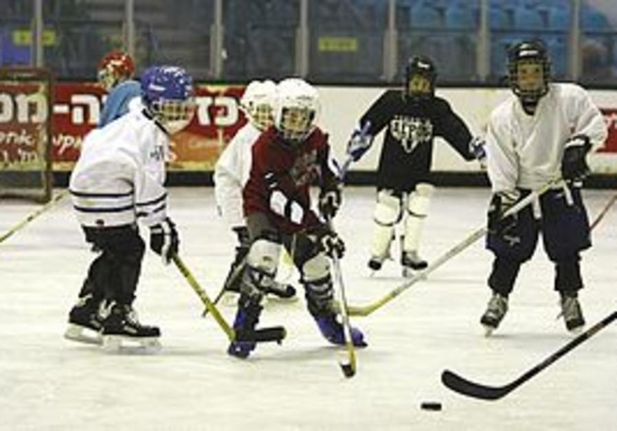 IRHA Hanukka hockey camp