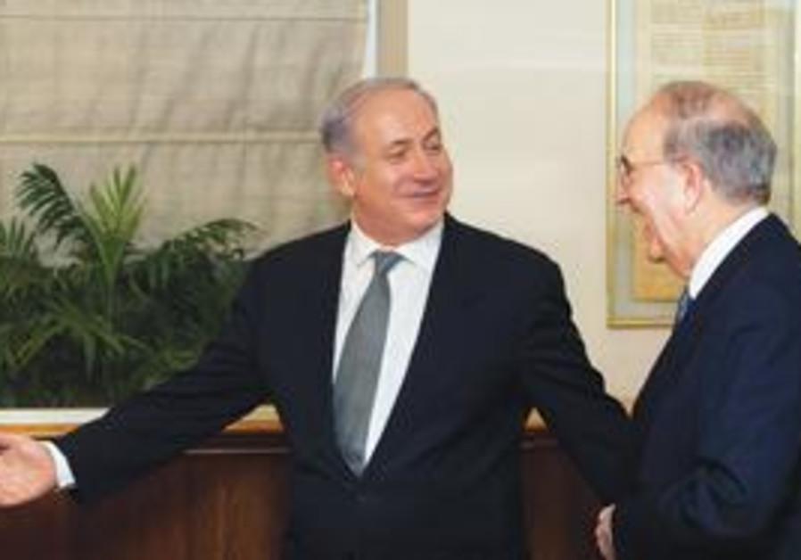 Netanyahu and Mitchell