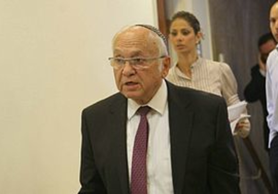 Justice Minister Yaakov Neeman