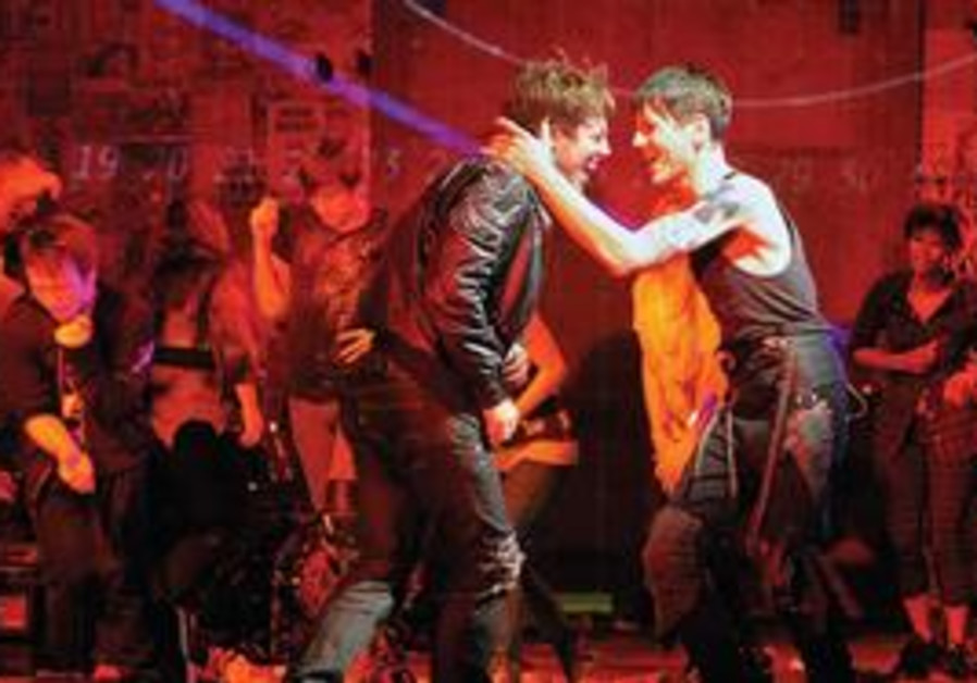 The broadway play 'American Idiot'