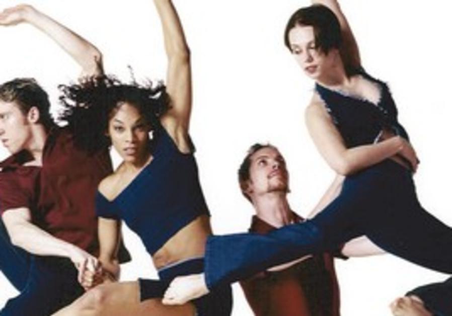 David Parsons dance group.