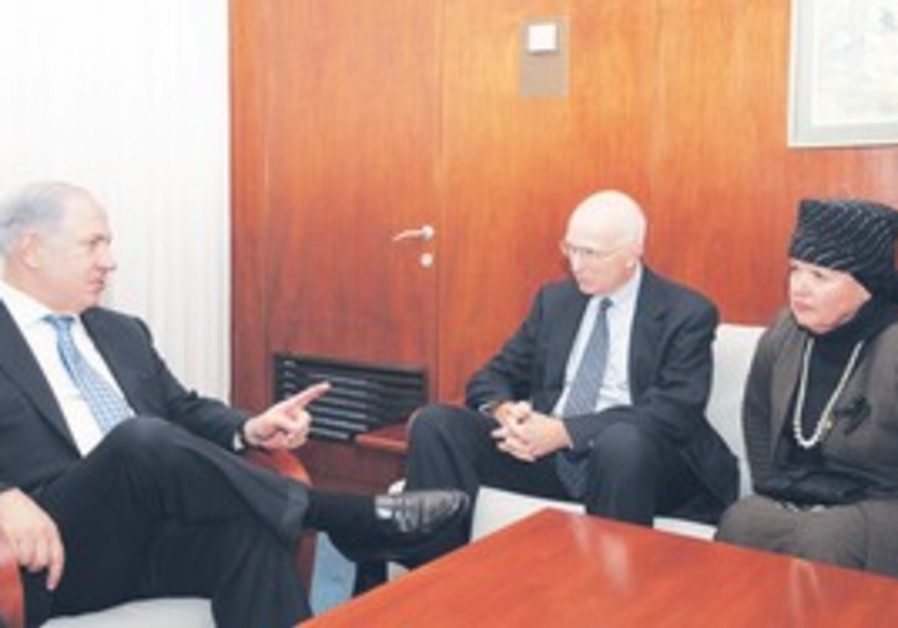 Esther Pollard meeting with PM Netanyahu