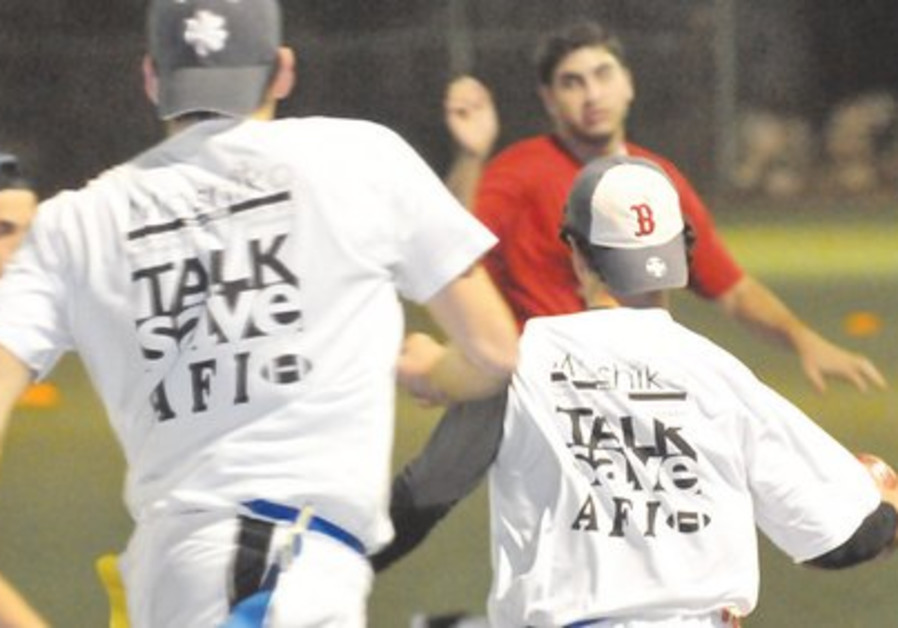 AFI Men's Contact Flag Football.