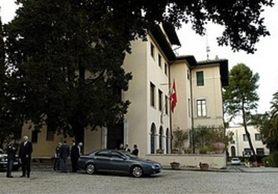 The Swiss embassy in Rome