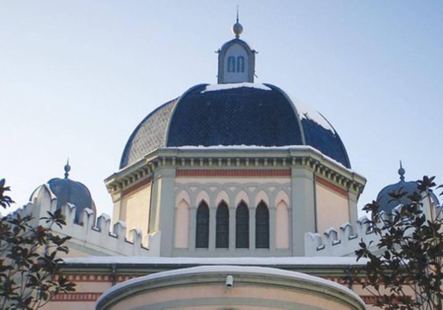 The Grande Synagogue in Geneva