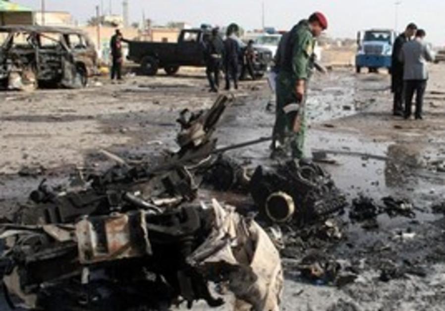 Scene of bombing in Iraq [illustrative photo]