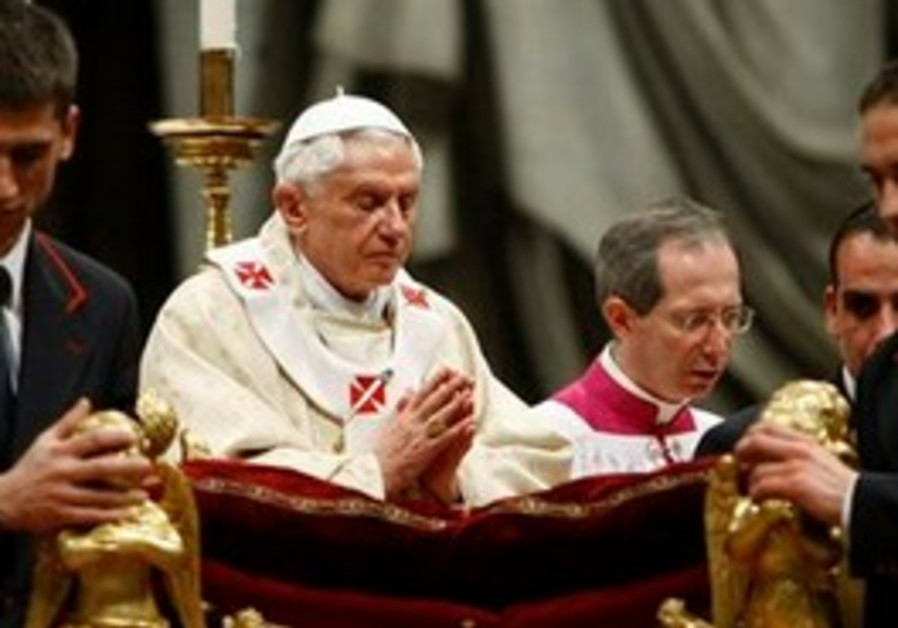 Pope Benedict XVI celebrates Christmas Mass