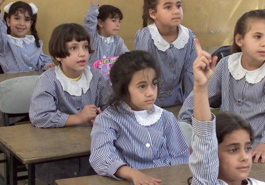 Arab school children