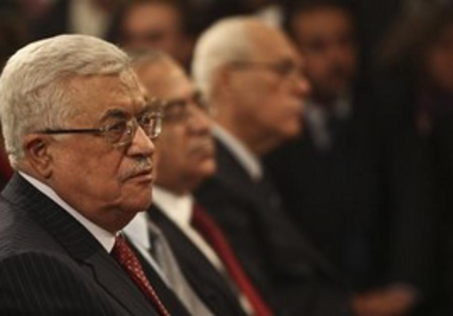 Mahmoud Abbas, Salam Fayyad at Bethlehem mass