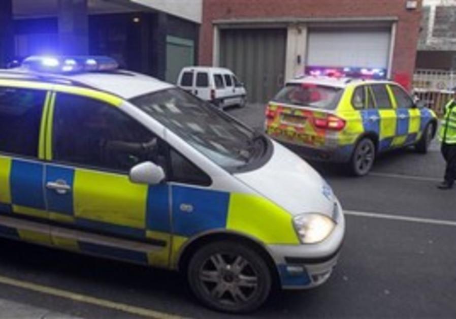 British police in London