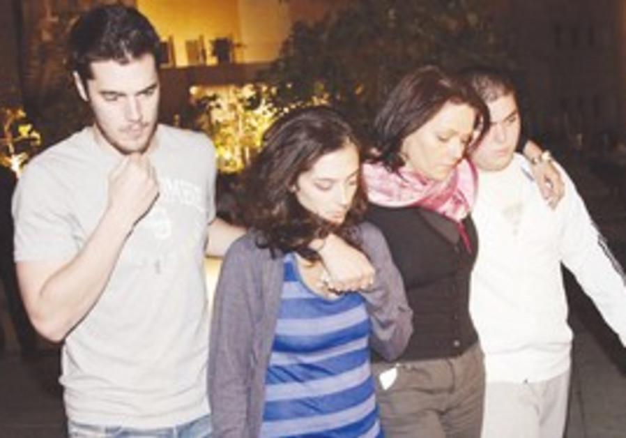 Former soccer player Avi Cohen's family.